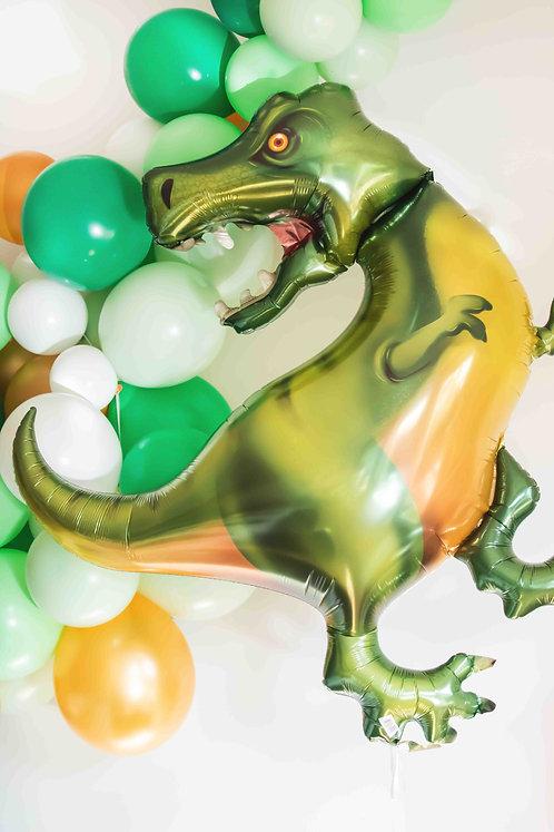 Folienballon, Heliumballon, T-Rex, Dinoballon, Dinosaurier, Dino Geburtstag, Partydeko, Kindergeburtstag, Mottoparty