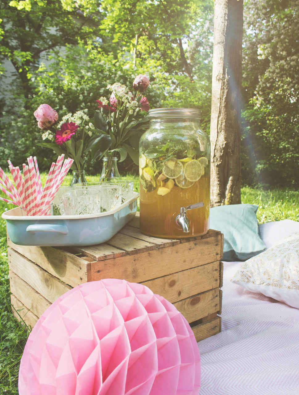 Eisparty, Sommerparty, Picknick, DIY, Partyhacks, Partyidee, Bridal Shower, Baby Party, Geburtstagsparty, Picknickparty, Garten Party
