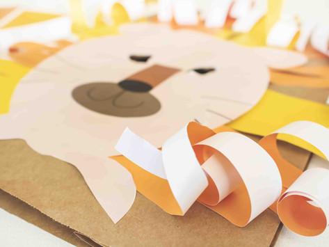 DIY Löwenmaske