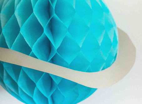DIY Planeten Honeycomb