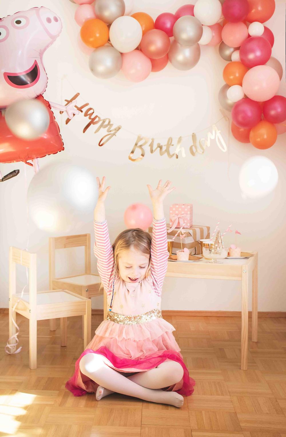 Peppa Wutz, Peppa Wutz Party, Mottoparty, Kindergeburtstag, Mädchengeburtstag, Kinderdeko, Partydeko, Geburtstagsdeko