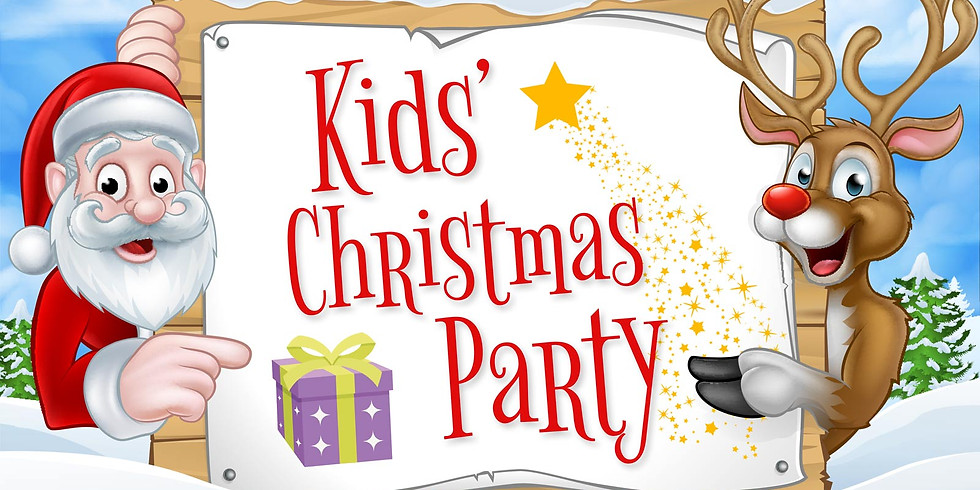 Children's Christmas Party - Friday 20th December, 5pm - 7pm