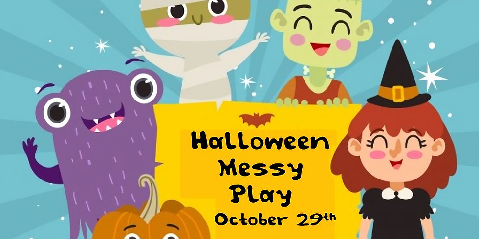 Halloween Messy Play (for 0-3 year olds) - Tuesday October 29th, 1-2pm