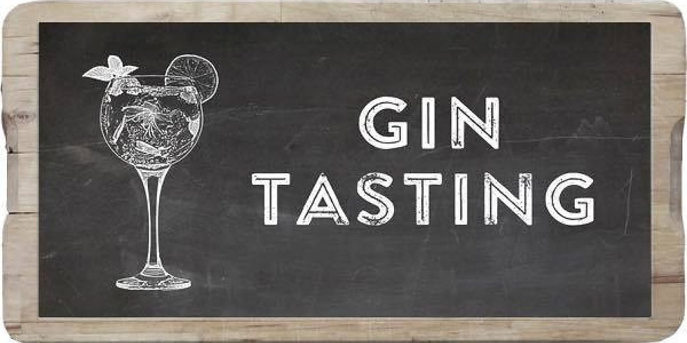 GIN TASTING EVENING CO-HOSTED WITH DERBYSHIRE DISTILLERY, FRIDAY 15TH NOVEMBER FROM 7PM