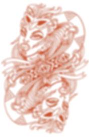 Queen Hinemoana orange BnW 4.jpg