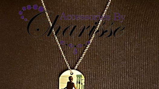 Custom, Personalized Photo ID Tag,Jewelry