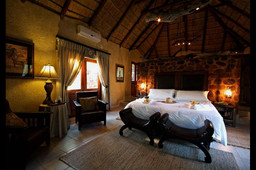 Luxury Chalets Bed