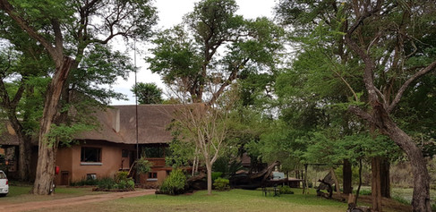 Zenzele River Lodge Entrance