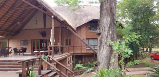 Zenzele River Lodge Deck