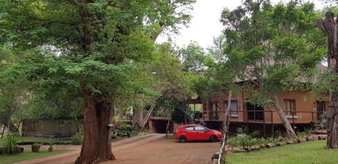 Zenzele River Lodge Reception
