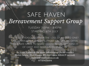 Safe Haven Bereavement Support Group