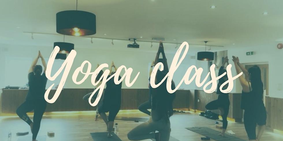 Yoga class with Sama Fabian