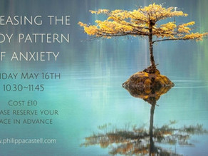 Releasing the body pattern of anxiety