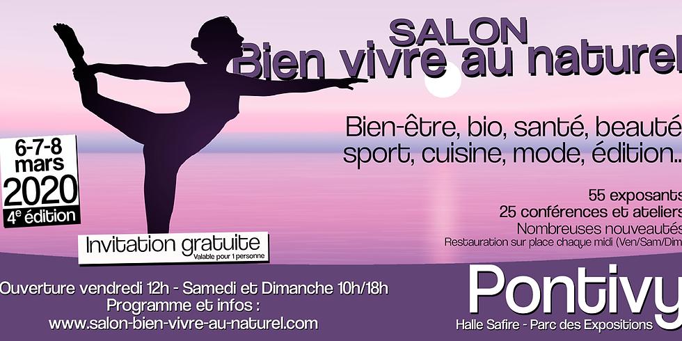 4ème Salon Bien vivre au naturel Pontivy 2020