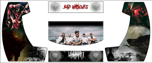 Bad Wolves Bartop Cabinet