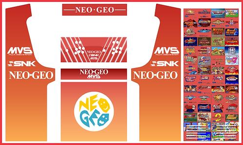 Neo Geo Geekpub Cabinet