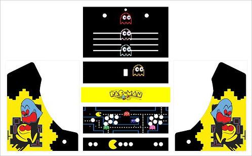 Pac Man Bartop Cabinet -2