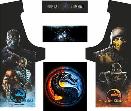 Mortal Kombat Geekpub Cabinet -4