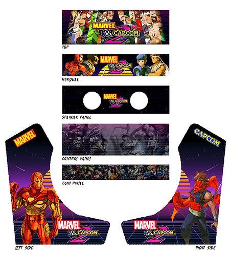 Marvel Vs Capcom Bartop Cabinet