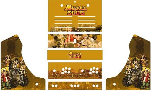 Metal Slug Bartop Cabinet
