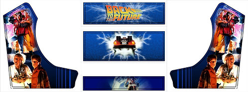 Back To The Future  Bartop Cabinet -2