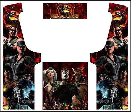 Mortal Kombat Geekpub Cabinet -3