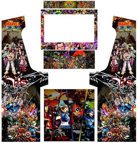 Marvel vs Capcom With Bezel Geekpub Cabinet