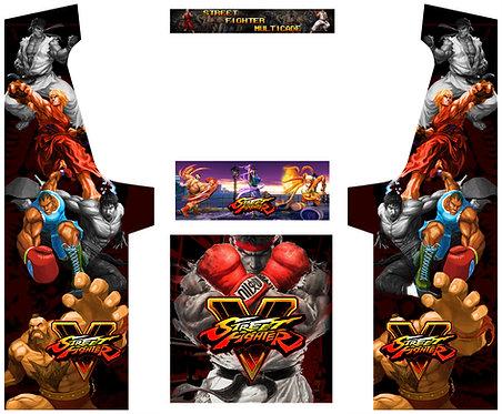 Street Fighter Geekpub Cabinet