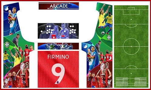 Footballer Geekpub Cabinet