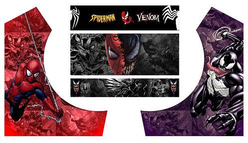 Spiderman Vs Venom Bartop Cabinet