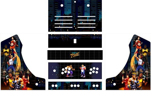 Streets Of Rage  Bartop Cabinet