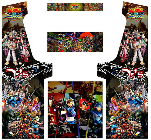 Marvel vs Capcom Geekpub Cabinet