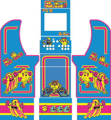 Ms Pacman Arcade1up Cabinet