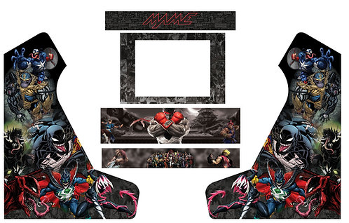 Venomised Marvel Bartop Cabinet