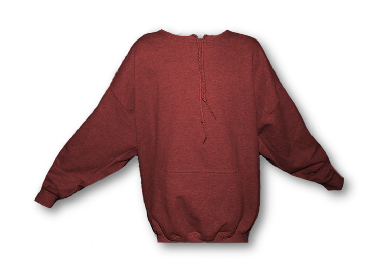 Hoodless Red