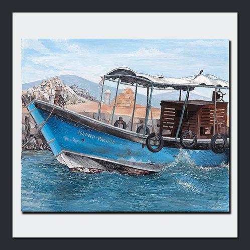 A Boat on a Coast