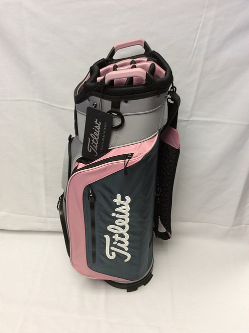 Titleist Cart Bag Sleet/Charcol/Petal