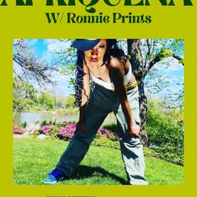 Afriquena w/: Ronnie Prints