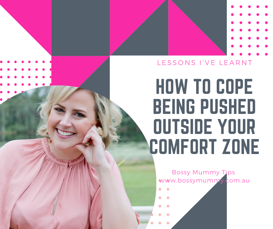 How to cope with being pushed out of our comfort zones.