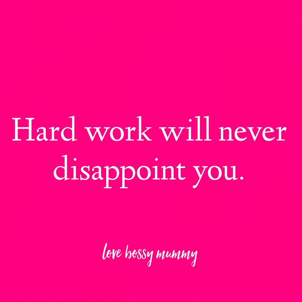 5 ways to smash Hard Work