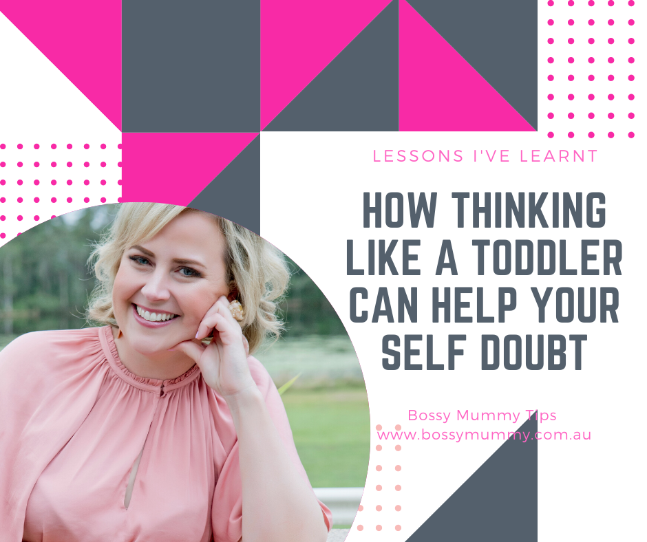 How thinking like a 4 year old can help with self doubt.