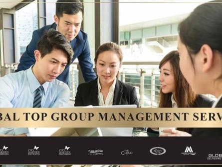 环球顶尖集团的管理服务