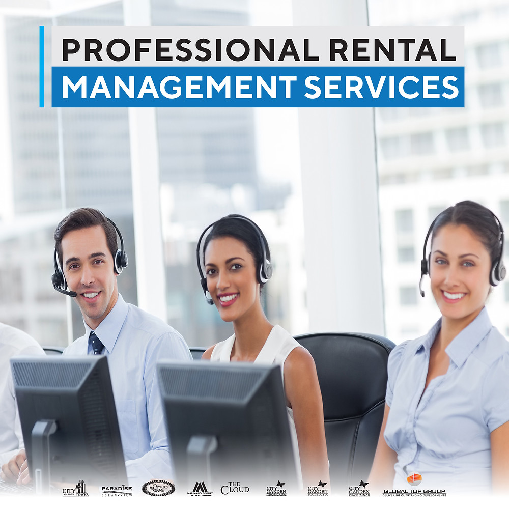Professional Rental Management, Global Top Group, Condo, Pattaya, Buy, Sale, Rent