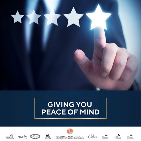 GLOBAL TOP GROUP DEVELOPMENT - GIVING YOU PEACE OF MIND