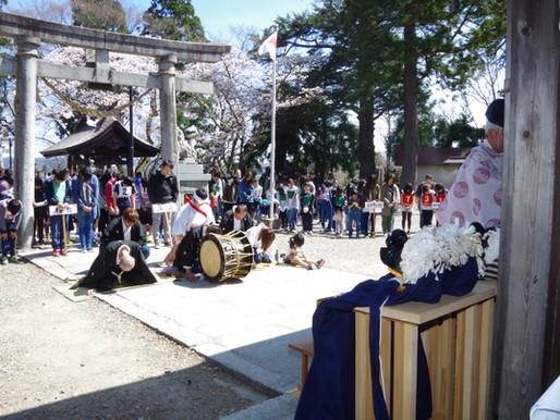 春祭・火防祭 奉納綱引き大会が開催されました!