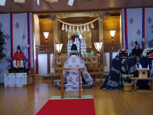 春祭・火防祭 奉納綱引き大会