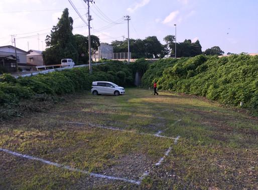 臨時駐車場について