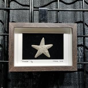 Pewter Starfish wall art