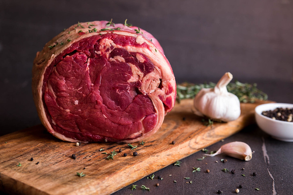 Rolled rib roast - HighBrit Beef