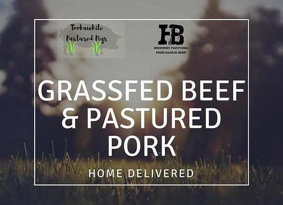 15kg Grassfed Beef & Pastured Pork Pack